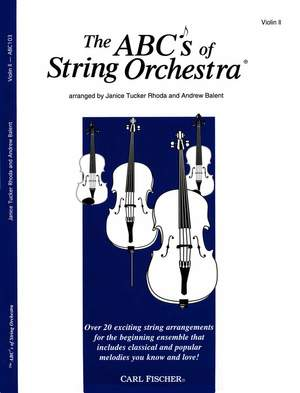 Rhoda: The ABCs of String Orchestra (Violin 2)