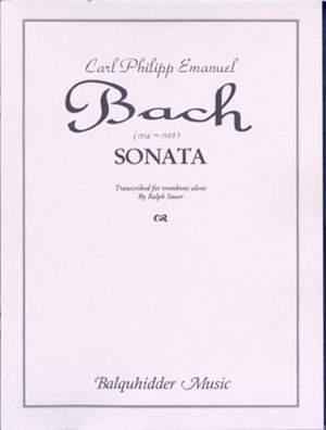 Bach CPE: Sonata