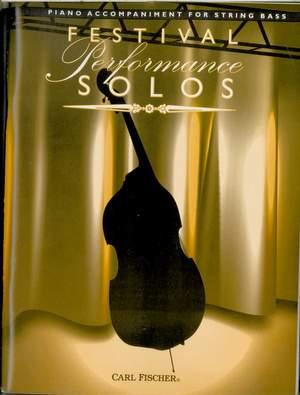 Franz Simandl_Giovanni Battista Pergolesi: Festival Performance Solos - Double Bass Acc