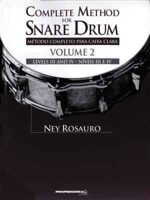 Ney Rosauro: Snare Drum Method-Vol. 2