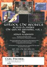 Adam Kadmon: The Guitar Grimoire: Scales and Modes, The DVD Product Image