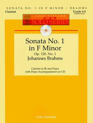 Johannes Brahms: Sonata No. 1 in F Minor