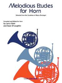Marco Bordogni: Melodious Etudes for Horn