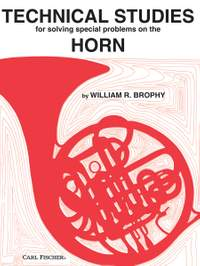 William R. Brophy: Technical Studies for Solving Special Problems on the Horn