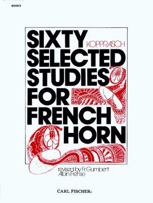 Kopprasch, C: 60 Selected Studies Band 2