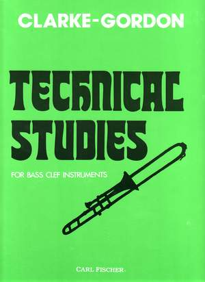 Technical Studies for Bass Clef Instruments