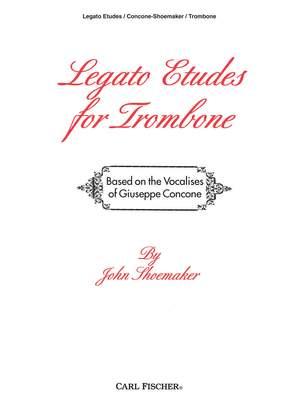 Giuseppe Concone: Legato Etudes