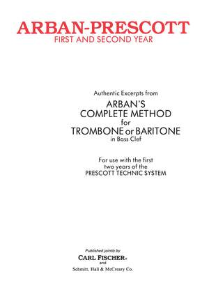 Arban: Arban/Prescott First and Second Year