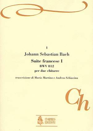 Bach, J S: French Suite No. 1  BWV 812