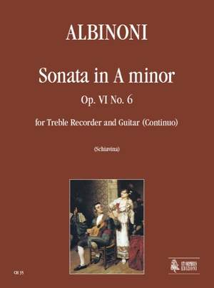 Albinoni, T: Sonata op. 6/6