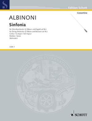 Albinoni, T: Sinfonia