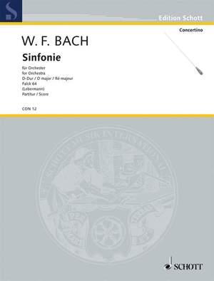 Bach, W F: Sinfonia D Major Falck 64