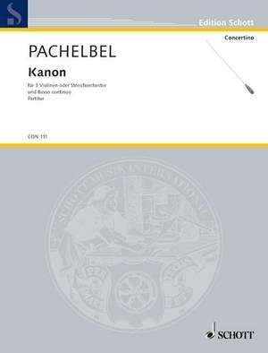 Pachelbel, J: Canon D major