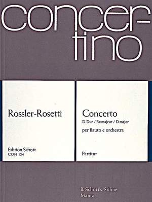 Rosetti, A: Concerto D major Murray C17