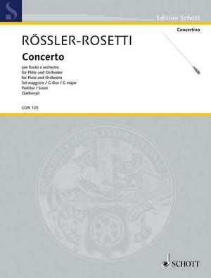 Rosetti, A: Concerto G major Murray C23