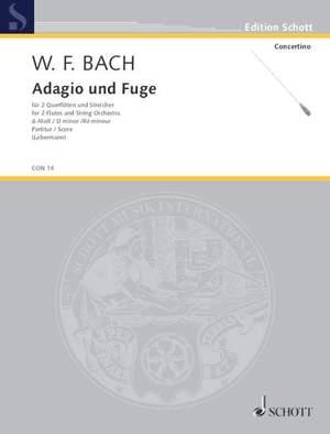 Bach, W F: Adagio and Fugue D minor Falck 65