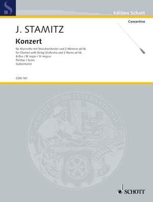 Stamitz, J W A: Concerto Bb major