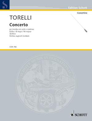 Torelli, G: Concerto D major G 9 Product Image