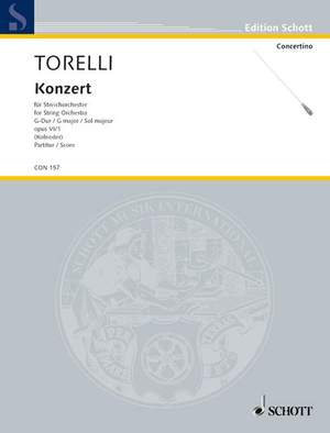 Torelli, G: Concerto G Major op. 6/1 Product Image