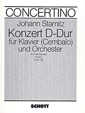 Stamitz, J W A: Concerto D Major op. 10/1