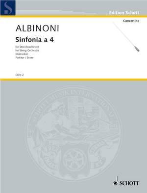 Albinoni, T: Sinfonia a 4