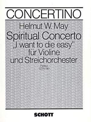 May, H W: Spiritual Concerto
