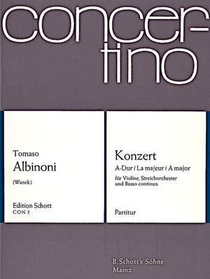 Albinoni, T: Concerto in A Major