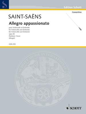 Saint-Saëns, C: Allegro appassionato op. 43