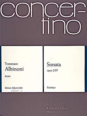 Albinoni, T: Sonata C Minor op. 2/4