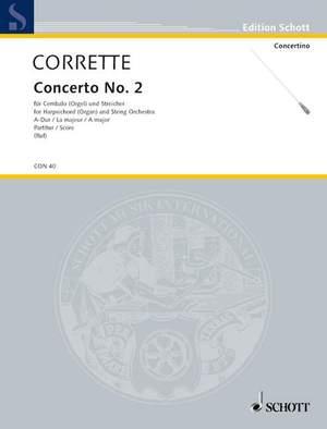 Corrette, M: Concerto II A Major