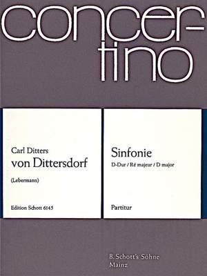 Dittersdorf, K D v: Symphony D Major Krebs vakat