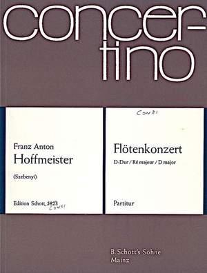 Hoffmeister, F A: Flute Concerto D major