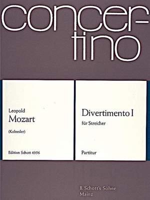 Mozart, L: Divertimento I