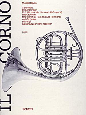 Haydn, J M: Concertino D major