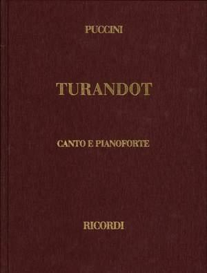 Puccini: Turandot (English & Italian text)