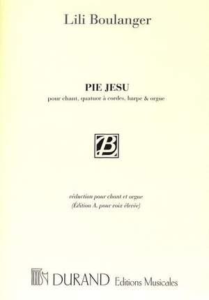 Boulanger: Pie Jesu (high)