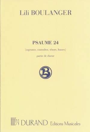 Boulanger: Psaume 24