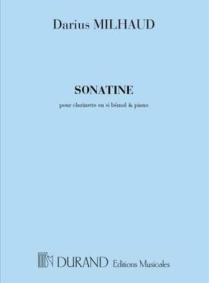 Milhaud: Sonatine Op.100
