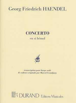 Handel: Concerto in B flat major (ed. M.Grandjany)