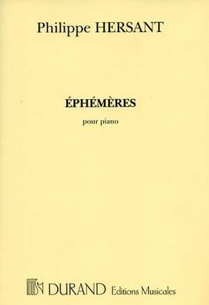 Hersant: Ephémères