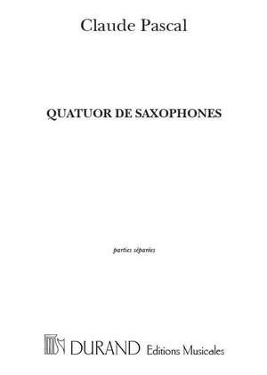 Pascal: Quatuor de Saxophones