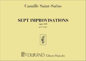 Saint-Saëns: 7 Improvisations Op.150