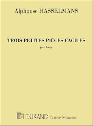 Hasselmans: 3 Petites Pièces faciles Op.9 (Durand)