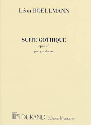 Boëllmann: Suite gothique Op.25 (Durand)