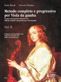 Complete and progressive Method for Viol Vol. 2