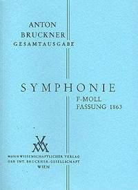 Bruckner: Sinfonie f-moll Fassung 1863