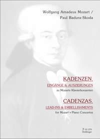 Wolfgang Amadeus Mozart_Paul Badura-Skoda: Kadenzen, Eingänge und Auszierungen