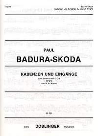 Paul Badura-Skoda: Kadenzen und Eingänge