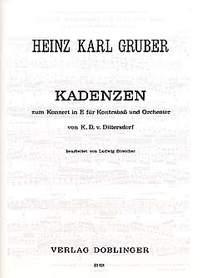 Heinz Karl Gruber: Kadenzen