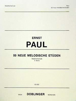 Herbert Paulmichl: Neue Melodische Etudes(50)